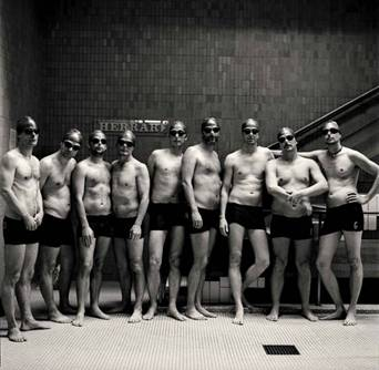 Men Who Swim Together